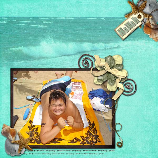 Sid In Hawaii