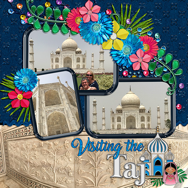 Visiting the Taj