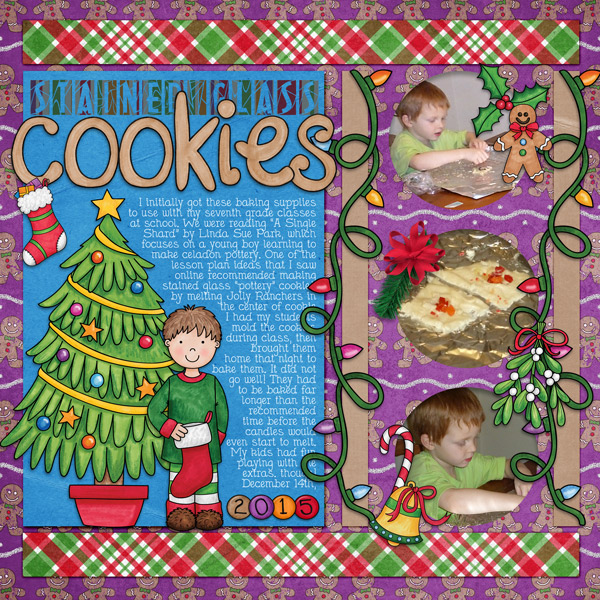 Stained Glass Cookies