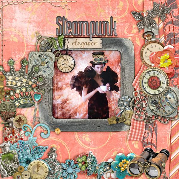 Steampunk-elegance