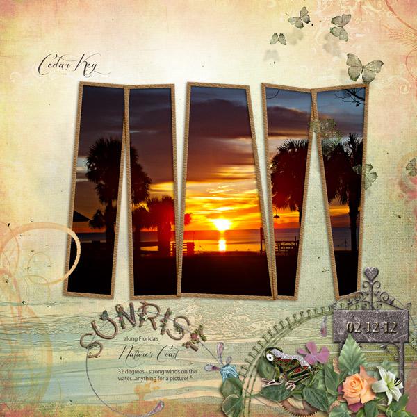 Sunrise- Cedar Key
