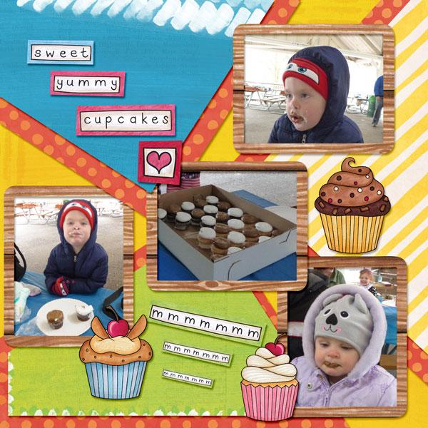 Sweet Yummy Cupcakes