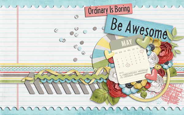 May 2013 (April Desktop Challenge)