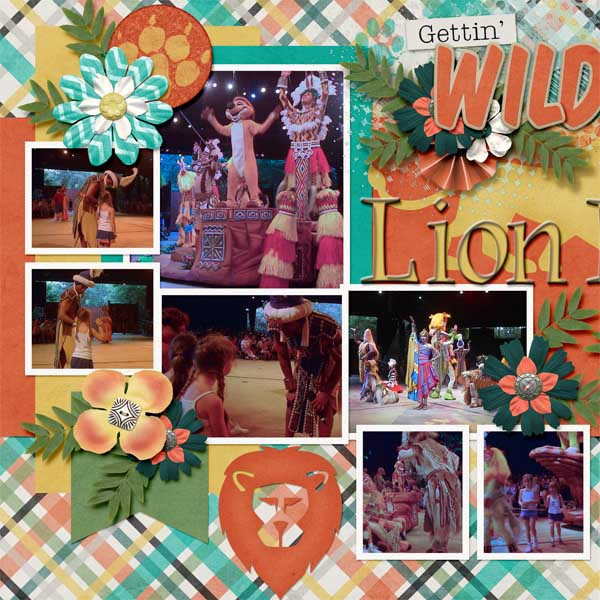 Lion King performance 2003
