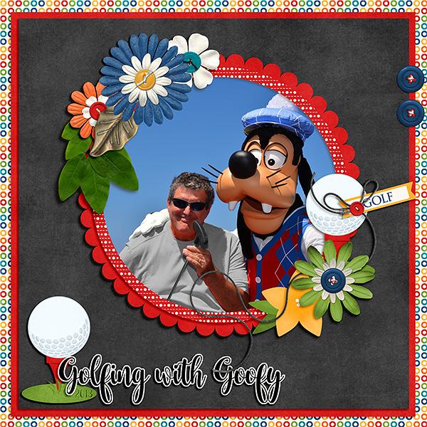 Golfing with Goofy