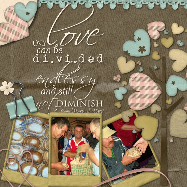 Endlessly divided love