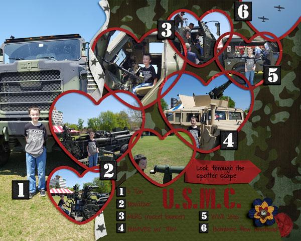 USMC Touch a Truck