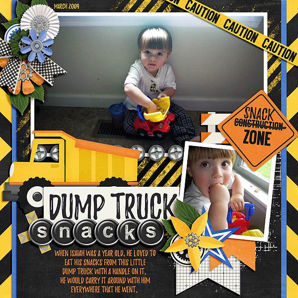 Dump Truck Snacks