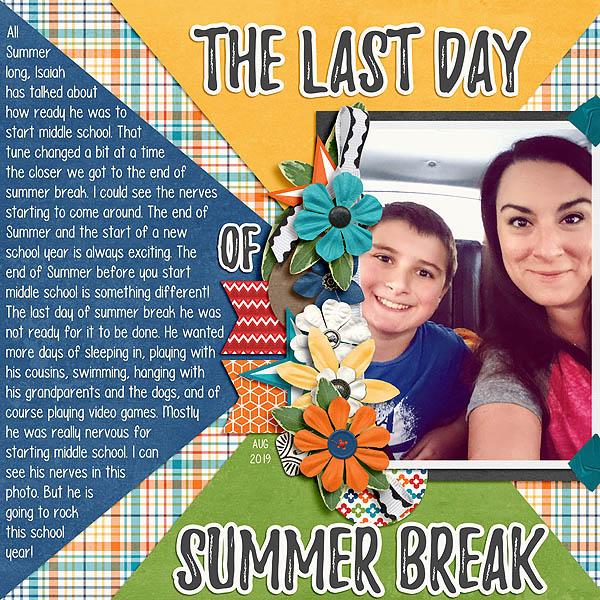 The Last Day of Summer Break