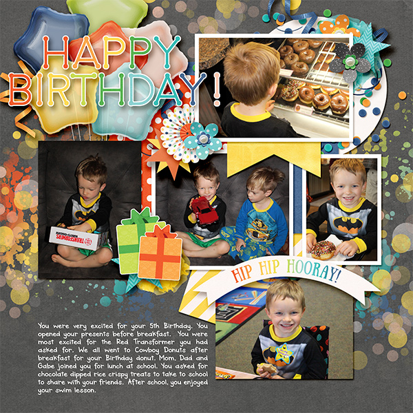 Wesley's 5th bday
