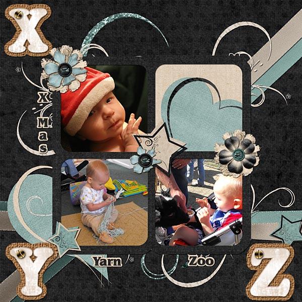 X,Y, & Z