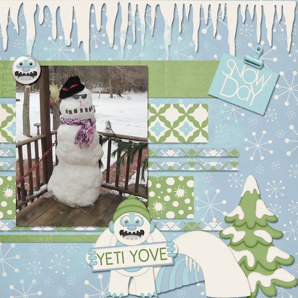 Yeti Snow Love