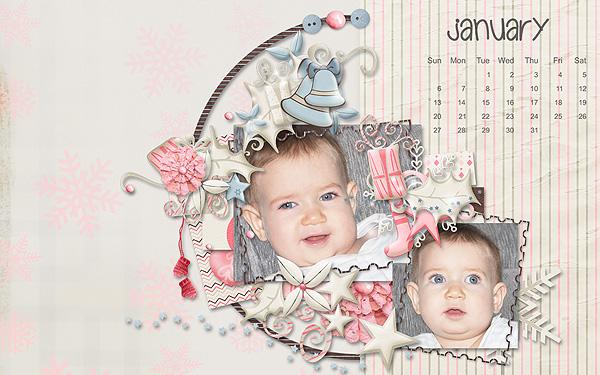 2013 Desktop Wallpaper - January