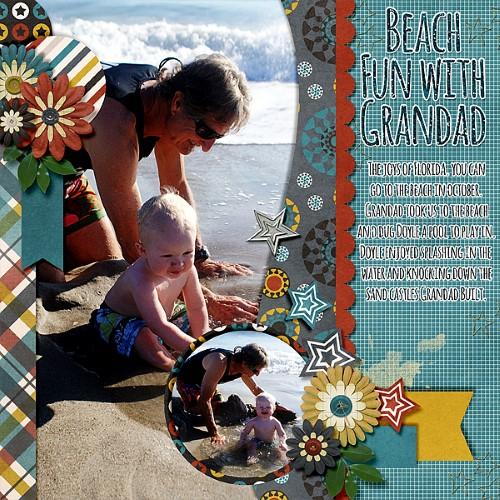 Beach Fun With Grandad