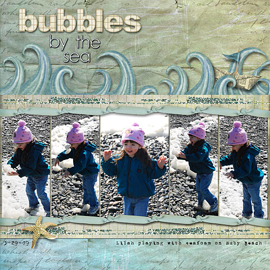 Bubbles by the Sea