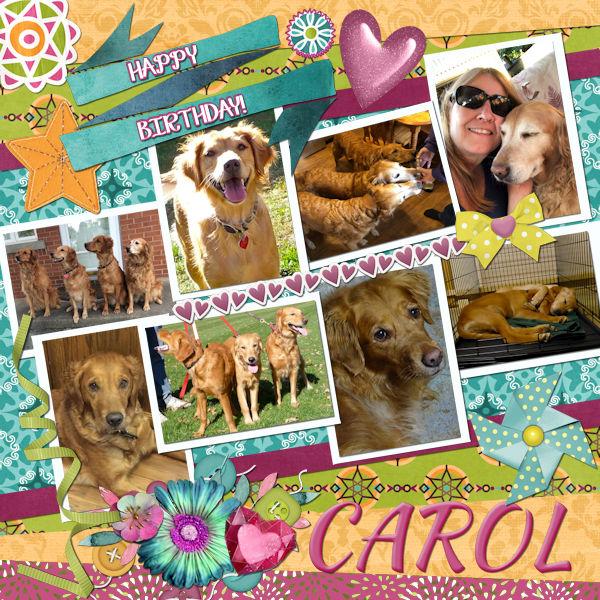 Happy Birthday Carol