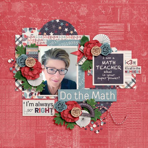 I am a math teacher