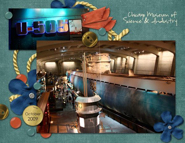 U-505 Chicago