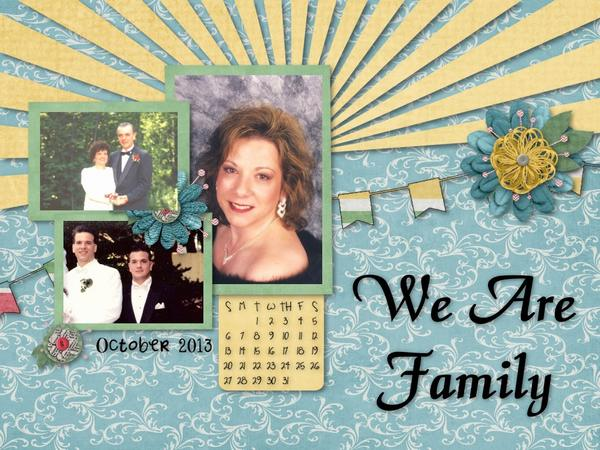 October 2013 Desktop (We Are Family)
