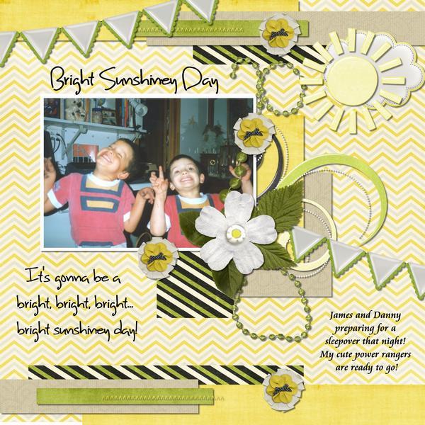 Bright Sunshiney Day