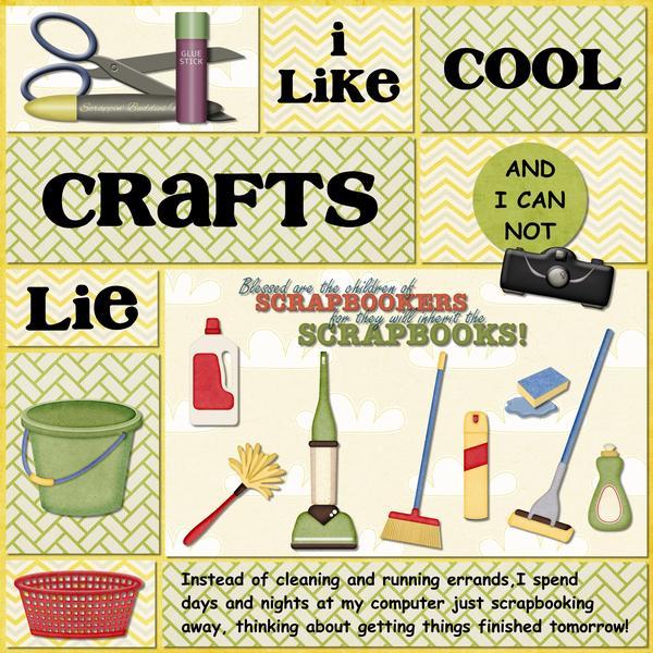 I Like Cool Crafts (and I Cannot Lie)