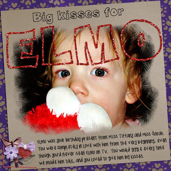 Big Kisses for Elmo