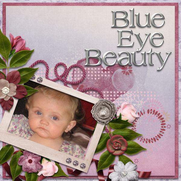 Blue Eye Beauty