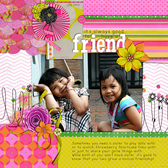 It's good to have friend