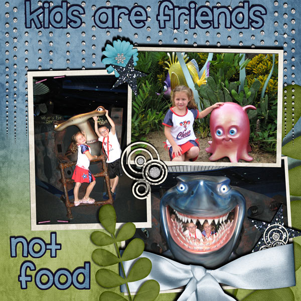 kids are friends not food
