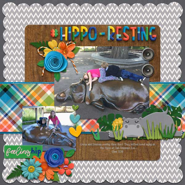 #hippo - resting