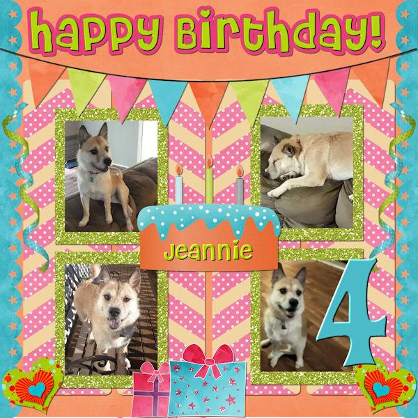 Happy Bday Jeannie