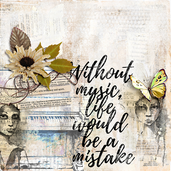 Without music...
