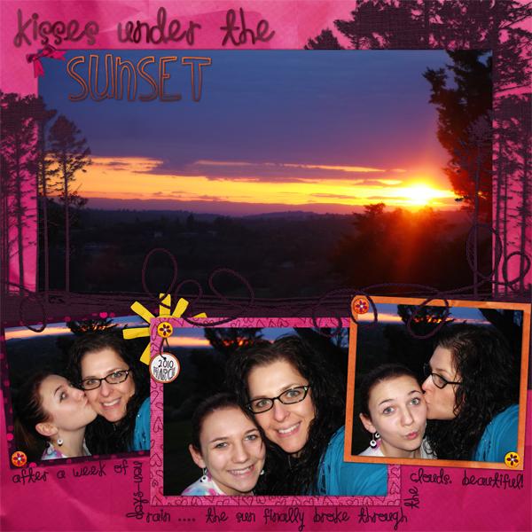 Kisses Under The Sunset