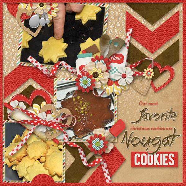 Nougat Cookies