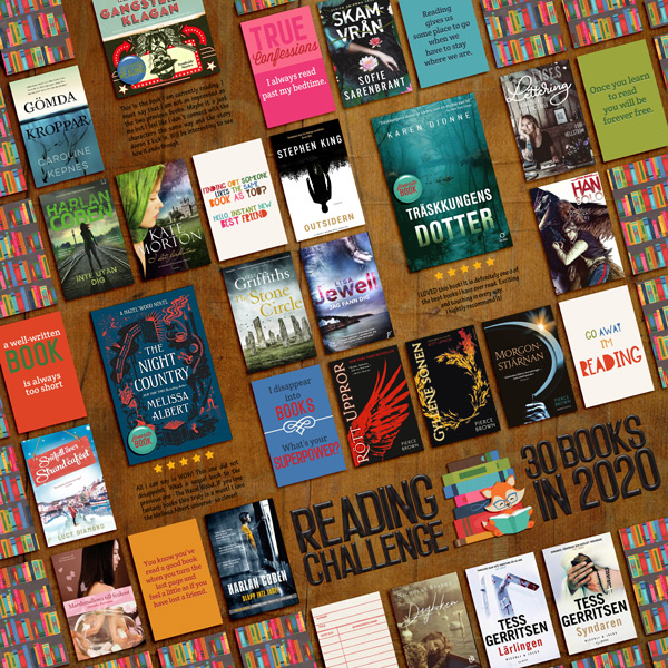 2020 Reading challenge
