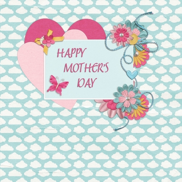 Mothers day card/April scraplift chall