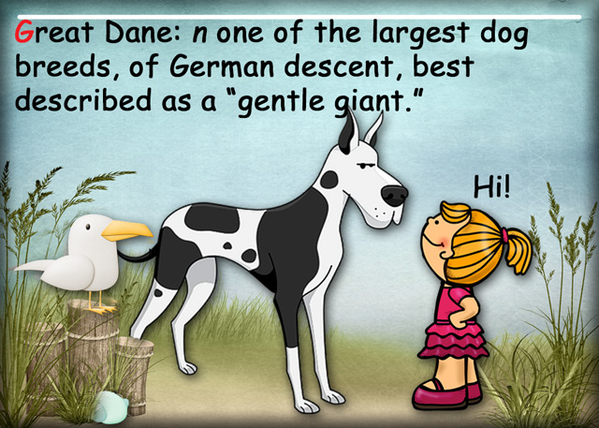 G is for Great Dane