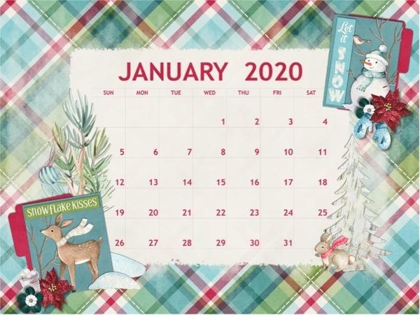 January 2020 Desktop Challenge