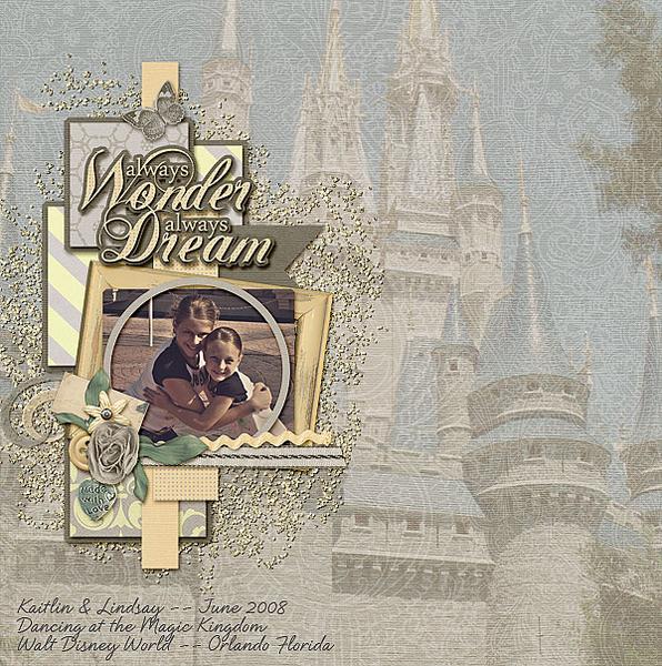 Wonder ... dream