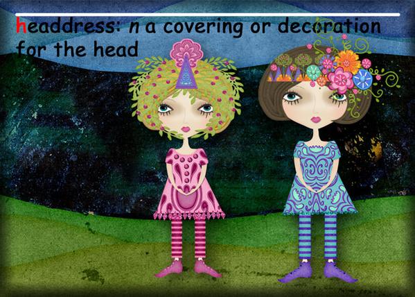 H is for Headdress