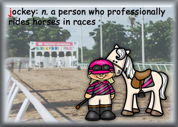 J is for Jockey