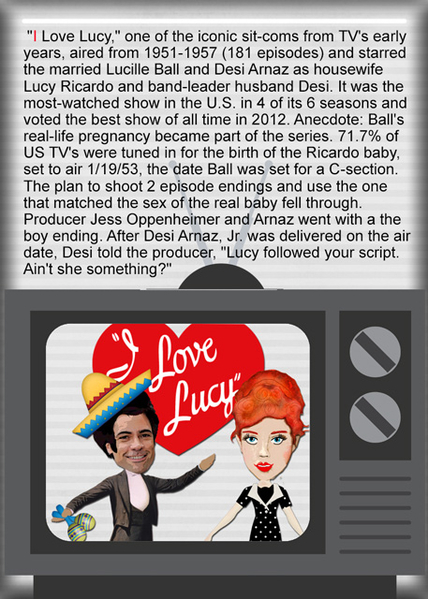 TV A to Z I LOVE LUCY