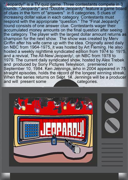 TV A to Z JEOPARDY!
