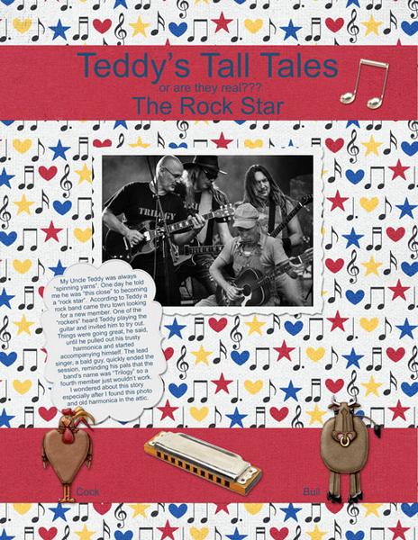 Teddy's Tall Tales - The Rock Star
