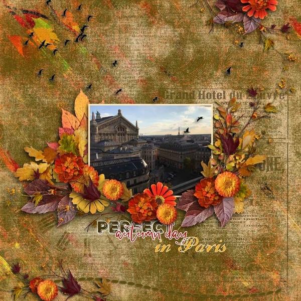 Perfect Autumn Day in Paris