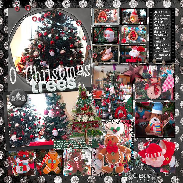 O' Christmas trees