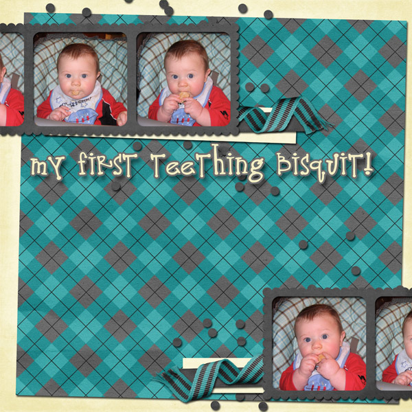 My First Teething Bisquit