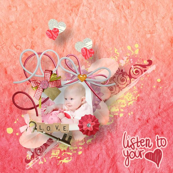 listen to your heart by Viola Moni