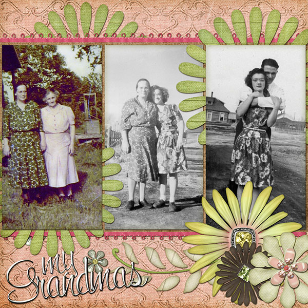 My Grandmas 3 generations