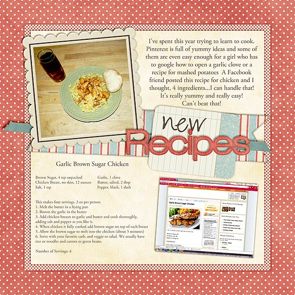 New Recipes